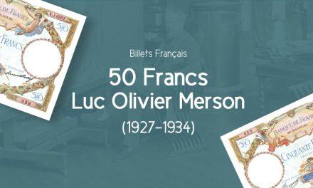 Le 50 Francs Luc Olivier Merson