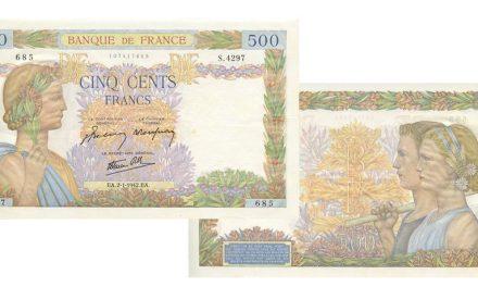 Le 500 Francs La Paix