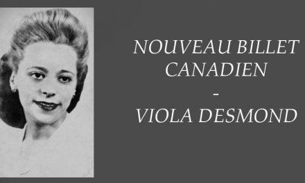 Le nouveau billet dédié à Viola Desmond
