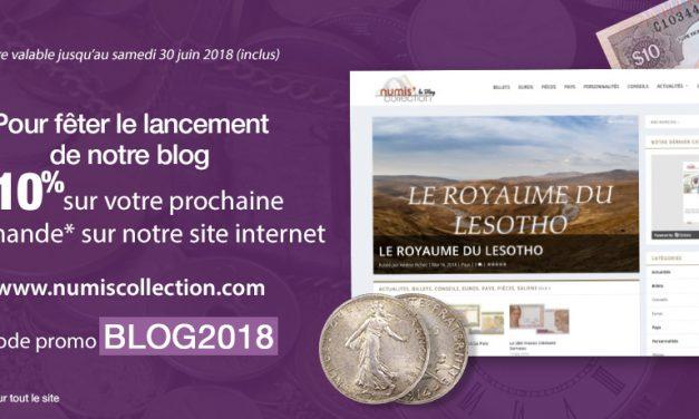 Promotion spéciale Blog