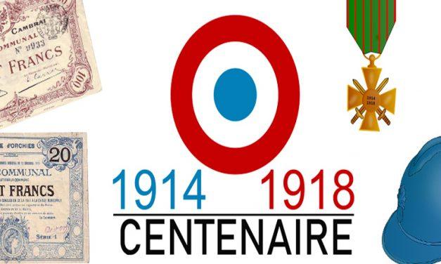 -25 % sur les billets de Nécessités pour fêter le Centenaire de la Première Guerre Mondiale (1914-1918)