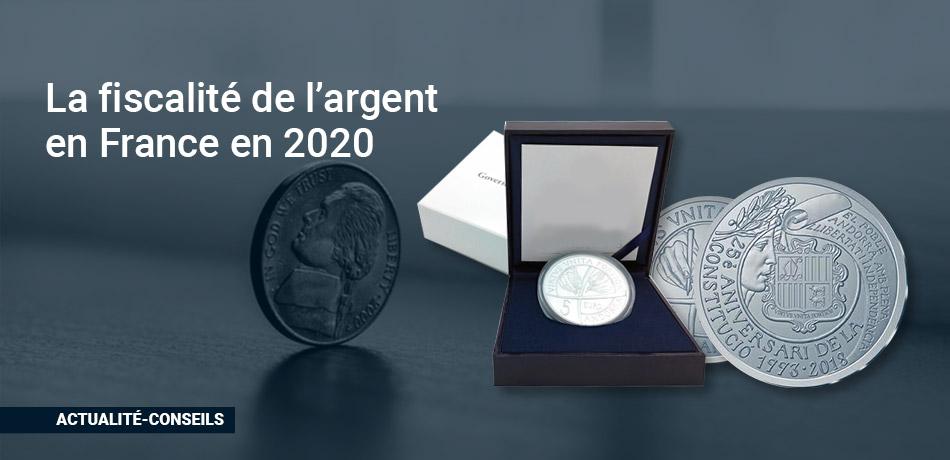 La Fiscalité de l'argent en France en 2020
