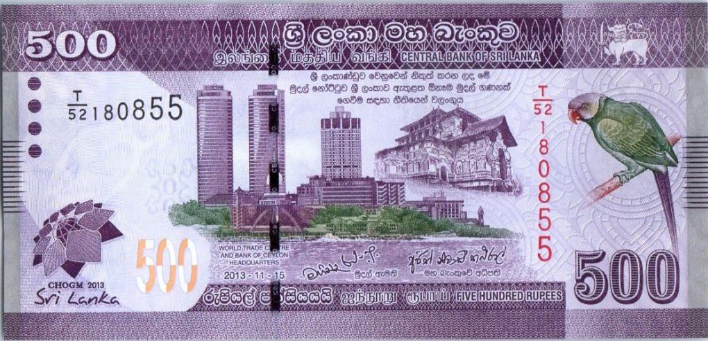 70e anniversaire – Le Sri Lanka annonce le changement de ces monnaies et l'émission d'un nouveau billet de 2000 roupies